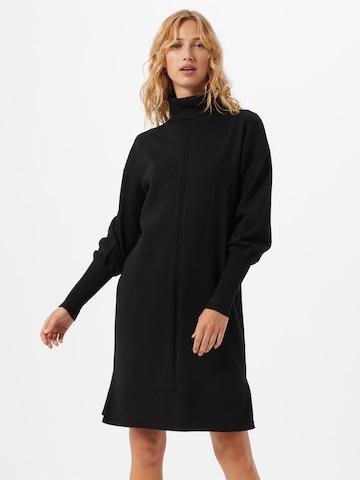 Robes en maille 'FAULA' Freequent en noir