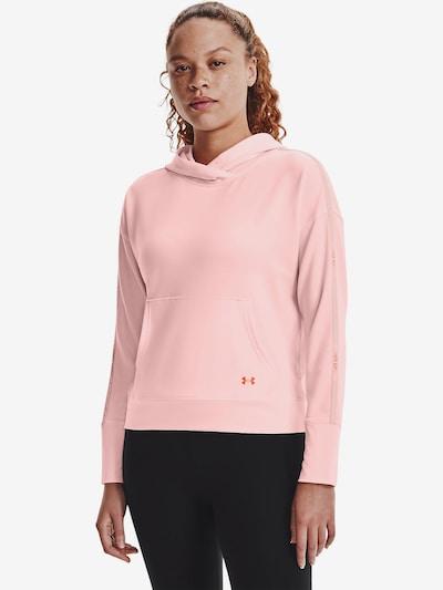UNDER ARMOUR Sportief sweatshirt in de kleur Rosa: Vooraanzicht