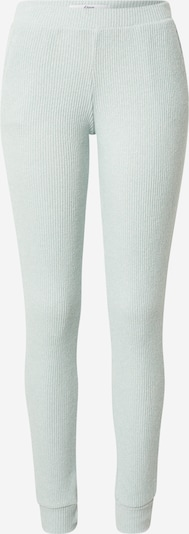 ETAM Pantalon de pyjama 'LEEN' en vert pastel, Vue avec produit