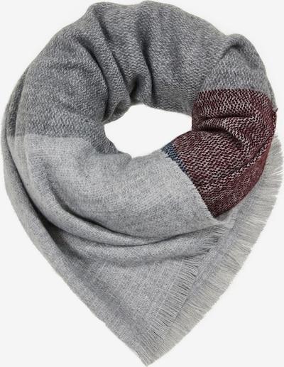 ESPRIT Sjaal in de kleur Turquoise / Grijs / Bordeaux, Productweergave