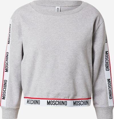 Moschino Underwear Spavaćica u siva / crvena / crna / bijela, Pregled proizvoda