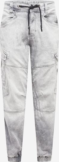 CAMP DAVID Pantalon cargo en gris, Vue avec produit
