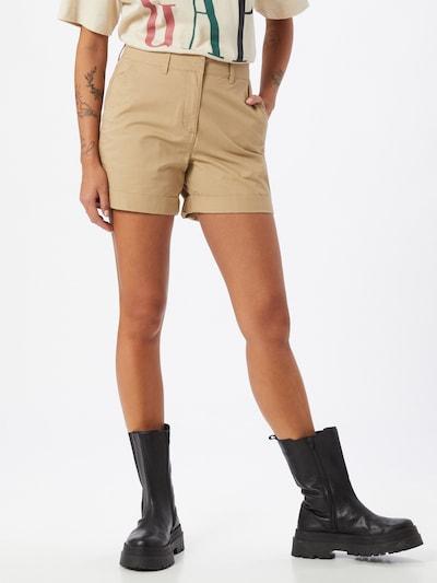 Pantaloni chino Dorothy Perkins di colore sabbia: Vista frontale