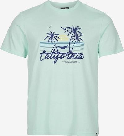 O'NEILL Shirt 'California Beach' in Night blue / Sky blue / Light blue / Yellow, Item view