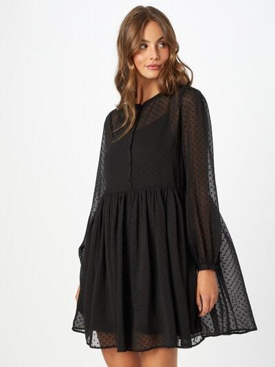 ABOUT YOU Kleid 'Payton' in schwarz / transparent, Modelansicht