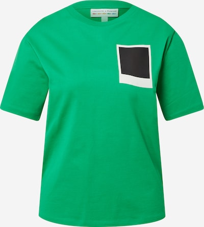 LACOSTE T-Krekls zāles zaļš / melns / balts, Preces skats