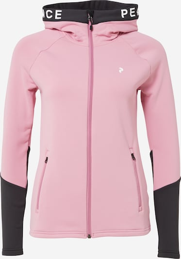 PEAK PERFORMANCE Sportjacke in rosa / schwarz, Produktansicht