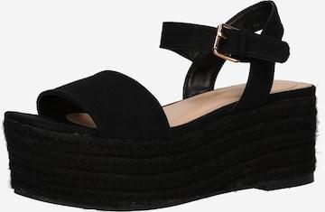 ABOUT YOU Sandaler 'Heidi' i svart