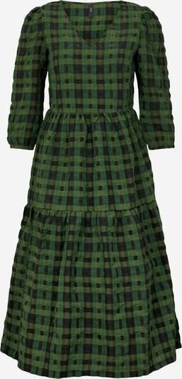 Y.A.S Kleid 'CHIA' in grün / schwarz, Produktansicht