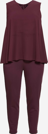 SHEEGO Jumpsuit in de kleur Aubergine, Productweergave