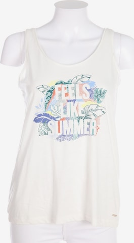 TOM TAILOR DENIM Top & Shirt in S in White