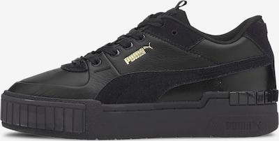 PUMA Sneaker low i guld / sort, Produktvisning