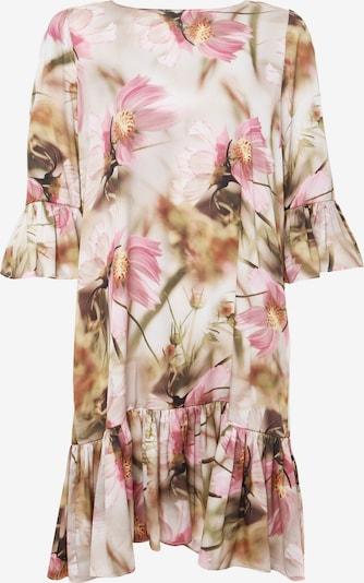 Madam-T Sommerkleid in beige / rosa, Produktansicht