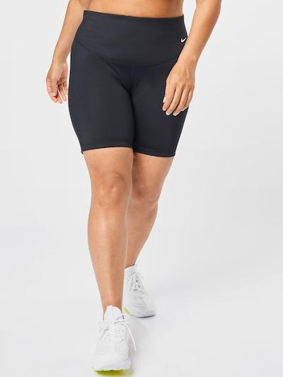 NIKE Športové nohavice - čierna / biela, Model/-ka