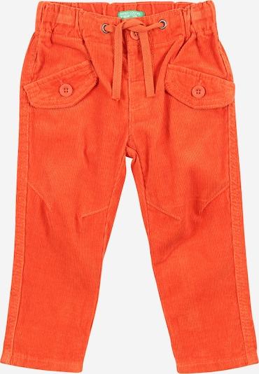 Pantaloni UNITED COLORS OF BENETTON pe roșu orange, Vizualizare produs