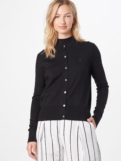 Polo Ralph Lauren Strickjacke in schwarz, Modelansicht