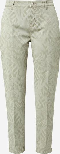 MAC Pantalon à plis 'Chino' en crème / vert, Vue avec produit