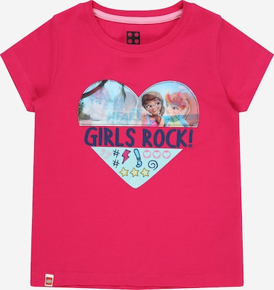 LEGO WEAR Shirt 'M12010077' in Mixed colours / Dark pink, Item view