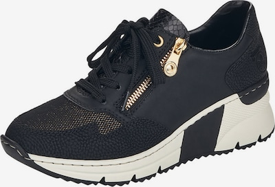 RIEKER Sneakers in Gold / Black / White, Item view