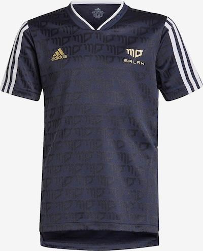 ADIDAS PERFORMANCE Functioneel shirt 'Salah Football-Inspired' in de kleur Donkerblauw / Wit, Productweergave