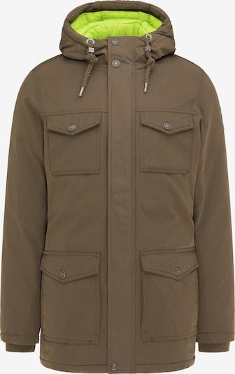 MO Winterjas in de kleur Limoen / Kaki, Productweergave