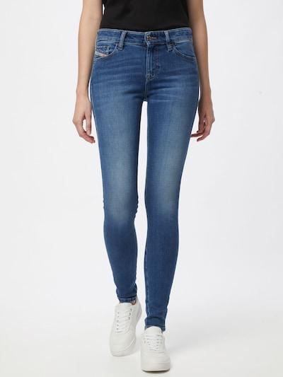 Jeans 'SLANDY' DIESEL pe albastru denim, Vizualizare model