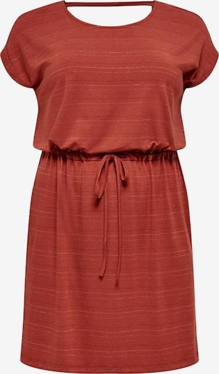 Rochie de vară 'Moster' ONLY Carmakoma pe maro ruginiu, Vizualizare produs