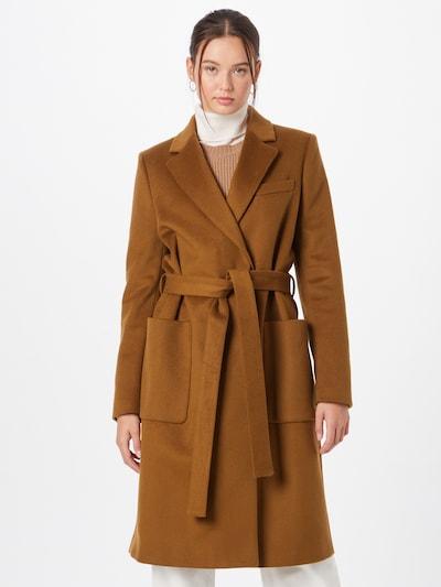Palton de primăvară-toamnă 'RIMINI' Tiger of Sweden pe maro caramel, Vizualizare model