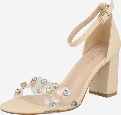 Carvela by Kurt Geiger Strap sandal 'KICK HEEL' in Beige / Mixed colours / Transparent, Item view