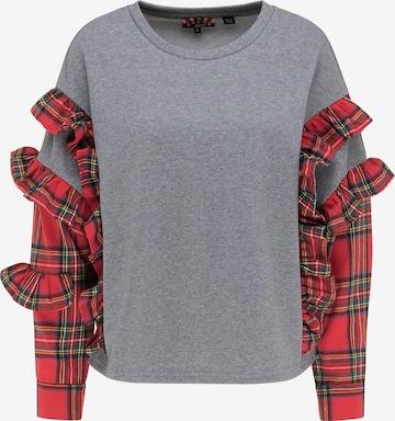 myMo ROCKS Sweatshirt in Grey