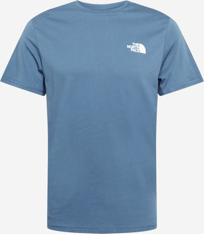 THE NORTH FACE Shirt 'Simple Dome' in de kleur Blauw, Productweergave