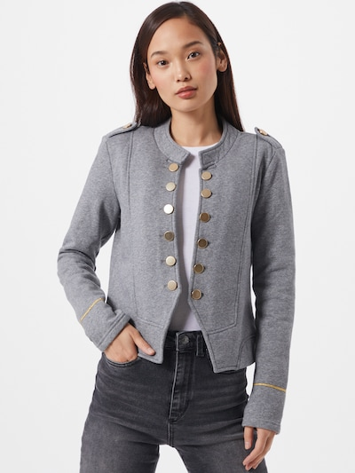 ONLY Blazer 'Camo' in gold / grau, Modelansicht
