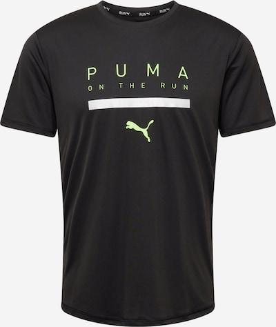 PUMA Funkčné tričko - limetová / čierna / biela, Produkt