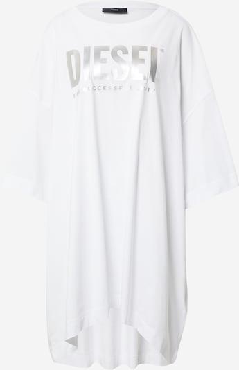 DIESEL Kleid 'EXTRA' in silbergrau / weiß, Produktansicht