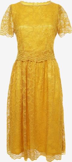 Madam-T Cocktailjurk 'Espera' in de kleur Geel, Productweergave