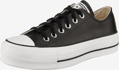 CONVERSE Baskets basses en noir / blanc, Vue avec produit