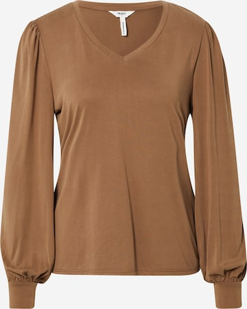 OBJECT Shirt 'Annie' in Brown