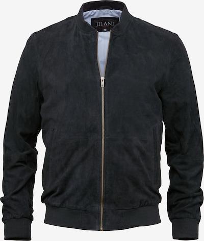 Jilani Lederjacke 'CLINTON' in blau, Produktansicht