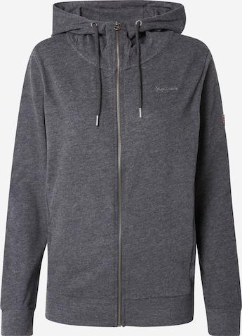Pepe Jeans Sweatjacka 'ANNE' i grå
