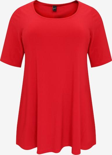 Yoek Shirt in de kleur Rood, Productweergave