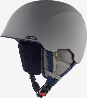 Alpina Helmet 'Albona' in Grey
