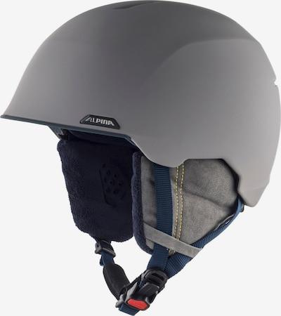 Alpina Skihelm 'Albona' in grau, Produktansicht