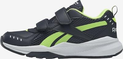 REEBOK Sportschuh in dunkelblau / neongelb / weiß, Produktansicht