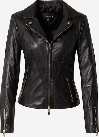 Studio AR Between-Season Jacket 'CHERRY' in Black, Item view