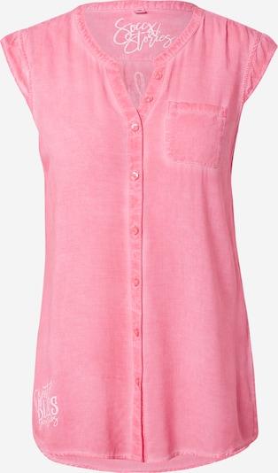 Soccx Blouse in de kleur Pink / Wit, Productweergave