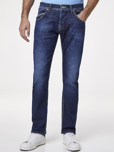 PIERRE CARDIN Jeans 'antibes' in blue denim, Modelansicht