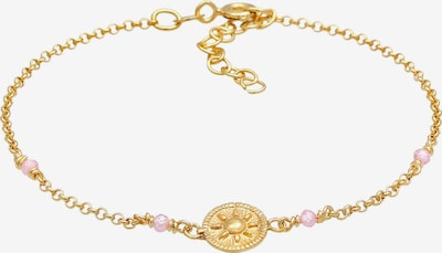 ELLI Armband in de kleur Goud / Rosa, Productweergave