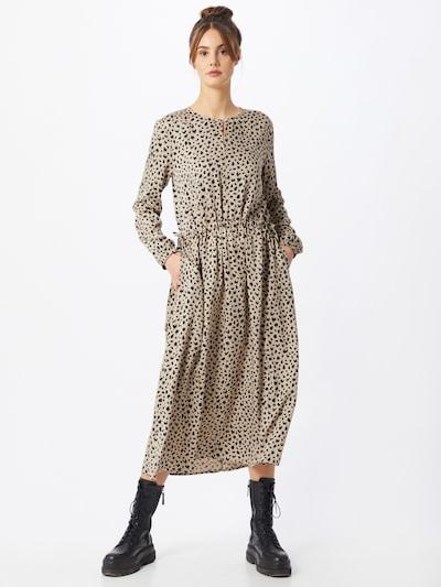 DRYKORN Kleid 'ADRAINA' in kastanienbraun / hellbraun, Modelansicht