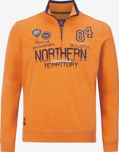 Jan Vanderstorm Sweatshirt 'Stig' in de kleur Gemengde kleuren / Sinaasappel, Productweergave