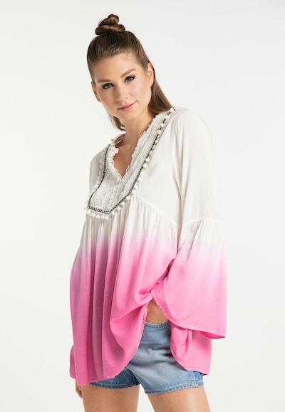Bluză MYMO pe roz / alb, Vizualizare model